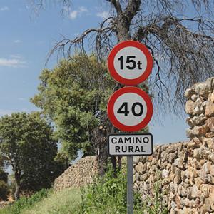 Caminos rurales en Villar de Plasencia